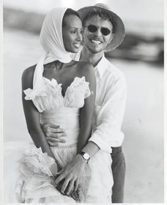 David and Iman in South Africa