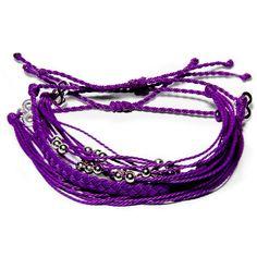 Deep Purple Set  - Weltfreund Armbänder