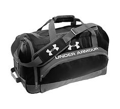 Start your fitness goals out right this year by storing all your workout gear in this Under Armour® PTH® Victory Team Duffle #Scheels #fitness