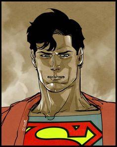 Superman by Carmein Di Giandomenico *