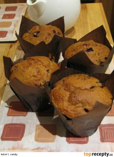 Pravé americké muffiny Food And Drink, Cookies, Breakfast, Recipes, Breakfast Cafe, Biscuits, Rezepte, Cookie Recipes, Cookie