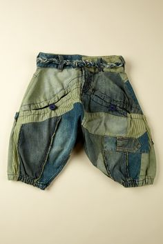 Desigual Denim Patchwork pants
