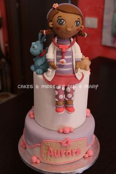 Doc McStuffins Cake, via Flickr.