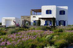Garden design - Island of Paros - Mediterranean exterior - Greece