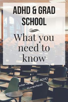 ADHD goes to grad school: what do students and mentors need to know? ADHD goes to grad school: what Phd Student, College Students, School Interview, School Hacks, School Tips, Np School, High School, School Ideas, Importance Of Time Management