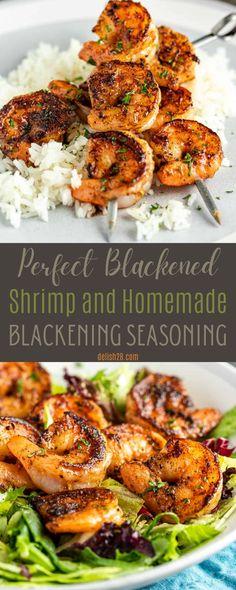 PERFECT BLACKENED SHRIMP