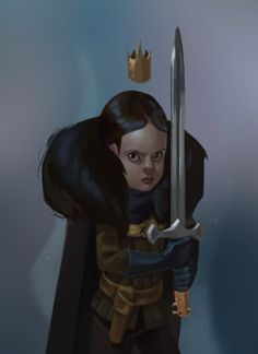 'Lady Lyanna Mormont' by Alex Delart Game Of Thrones Arya, Game Of Thrones Houses, Lady Lyanna Mormont, Character Inspiration, Character Design, Show Runner, The North Remembers, Kings Game, Got Memes
