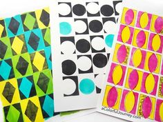 How to Use Bold Pattern Stencils