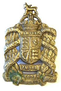 King edward military insignia Horse Cap Badge