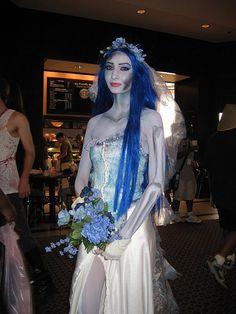 Corpse bride costume diy fashion