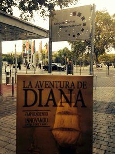Diana ha estado esta semana en Frankfurt preparando su despegue internacional en la mas importante feria editorial internacional. Aufwiedersehen.