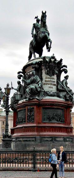 Monument to Tsar Nicholas I