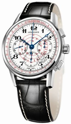 Longines Telemeter & Tachymeter Chronograph Watches