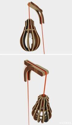 hangsysteem met gekleurde draad
