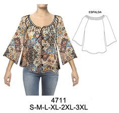 Temporada Sewing Blouses, Diy Shorts, Dress Sewing Patterns, Blouse Dress, Apparel Design, Refashion, Sewing Tutorials, Blouse Designs, Casual Outfits