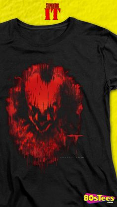 Womens Pennywise IT Chapter Two Shirt Tank Top Shirt, Tank Tops, Clown Faces, Blood, Shape, Fan, Club, T Shirts For Women, Children