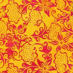 Anthology Fabrics Bali Batik 3178 Fuchsia by PeterMichaelFabrics