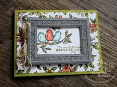 Heirloom Frames Dies and embossing folders are a dream to work with as long as use a crucial trick and the new embossing plate from Stampin'Up! Crackle Painting, Paint Background, Bird Cards, Cards For Friends, Coordinating Colors, Sympathy Cards, Stamping Up, Embossing Folder, Greeting Cards Handmade