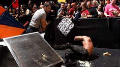 Raw 10/6/14: John Cena vs. Seth Rollins, Randy Orton & Kane – 3-on-1 Handicap Match