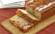 Cranberry Orange Quick Bread with Wheat Germ - This wholesome and easy bread is perfect to accent a meal or start your morning. The wheat germ in the recipe adds a nutty flavor and boosts the vitamins and minerals. Cranberry Orange Bread, Cranberry Recipes, Wheat Germ, Easy Bread, Sweet Cakes, How To Make Bread, Sweet Bread, Coffee Cake, Recipes