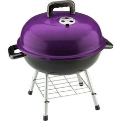 Image result for purple charcoal grill