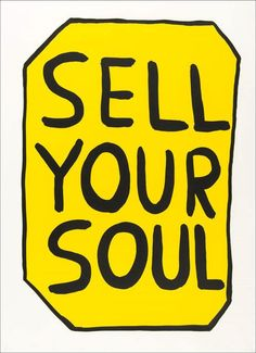 "David Shrigley ""Save Your Soul"" signed, original two colour screenprint on quality stock paper. Published in A limited edition of Hand signed and numbered by David Shrigley. London Art Fair, Save Your Soul, Only Play, Artwork Images, Art World, Graphic Illustration, Screen Printing, Typography, Fine Art"