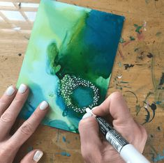 Creative Crafts 832391943606304202 - finding meaning in my art, How to use alcohol inks, how to paint for fun, how to paint about your feelings Source by Alcohol Ink Crafts, Alcohol Ink Painting, Alcohol Ink Art, Abstract Watercolor, Watercolor And Ink, Watercolor Paintings, Watercolours, Alchemy Art, Posca