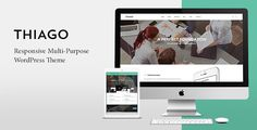 Thiago - Responsive Multi-Purpose WordPress Theme . Thiago is very flexible and it comes with some awesome features, such as Slider Revolution, Visual Composer etc. It is also a multi-purpose theme that can be used for any type of website, such as creative portfolio, photography, products, corporate and business sites. With the combination of