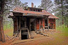 ghost towns   Dakotagraph: Spokane ghost town