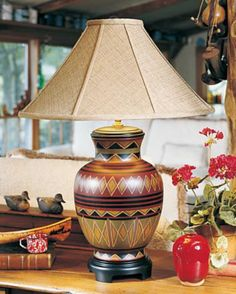 Granada Table Lamp - Western Decor - Cabin Décor $279