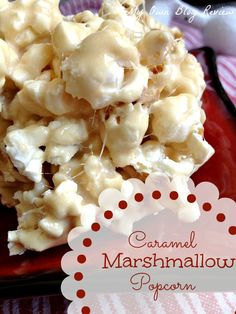 My Own Blog Review: Caramel Marshmallow Popcorn   **I made this and it was yummy 3/5, definitely an easy snack, I tried it with hot air popcorn, but microwave would be good ESP butter microwave!PAG**