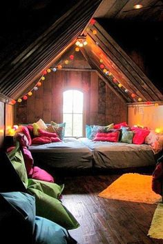 Indoor camping inspiration