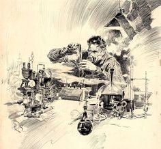 John Richard Flanagan - Student of Poison