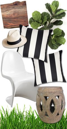 Black And White Striped Throw Pillow Cover 18 By 18