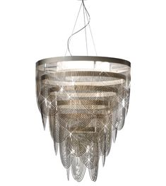So elegant and yet modern!  Ceremony by Bruno Rainaldi for SLAMP is reminiscent of a skirt or the drape of a neckline.