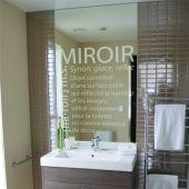 Bathroom Mirror Stickers apporter une touche d'humour à vos toilettes !   stickers - wc