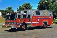 ◆Clayville, NY FD Rescue 2 ~ 1988 Hahn/Saulsbury Heavy Rescue Squad◆