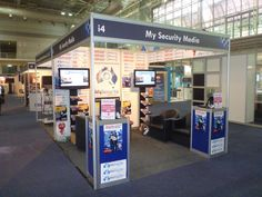The My Security Media Stand @ Security 2011 in Sydney.