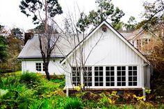 glorious windows underscore the dominant theme of Walling design — every room brings the garden inside. Landscape Design, Garden Design, Homestead Farm, Gardening Books, Dream Garden, Wall Design, Homesteading, Bungalow, The Neighbourhood