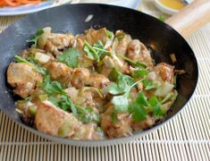 Lavender and Lovage | Healthy Kung Pao Chicken | http://www.lavenderandlovage.com