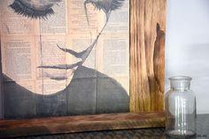 Cómo montar un colgador con madera de palet y personalizar tus láminas