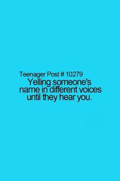 @Adrienne Rodarte     Deeee. Adrienne!! Adrianna!!! Dee!! Adrienne!!!! Hello?!?!  @Kesha's Girlfriend  Alyssa? Lyssa? Alyssa?? Alyssa!!! Helllllloooooo?