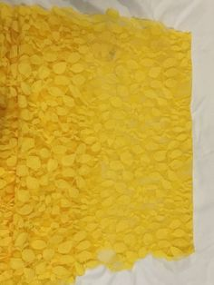 Yellow table runners - 8 available $7 each