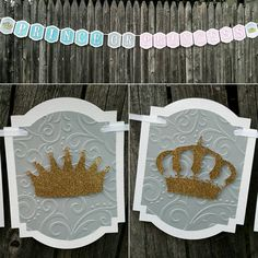 Prince or Princess Banner, Prince or Princess gender reveal, gender reveal banner, BabyShower, Gender Reveal Party, Boy or Girl Reveal