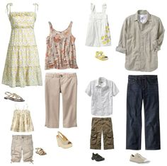 what to wear for summer family portraits Summer Family Portraits, Family Portrait Outfits, Summer Family Photos, Family Picture Outfits, Family Photo Sessions, Family Pictures, Beach Sessions, Beach Pictures, Clothing Photography