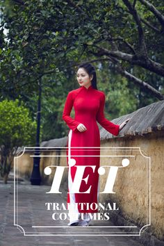 Red represents for warm, lucky and prosperity in Vietnamese perception. You can see Red on the street, in every houses during Tet holiday in Vietnam.