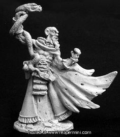 Dark Heaven Legends > Taenar, Cultist Leader    Reaper Miniatures :: Miniatures