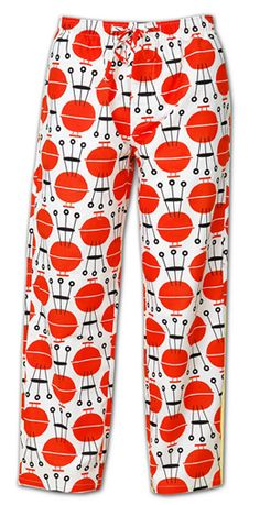 "The Cat's Pajamas Men's ""BBQ Grills"" Cotton Pajama Pant $58 - SHOP http://www.thepajamacompany.com/store/18760.html?category_id=10993"