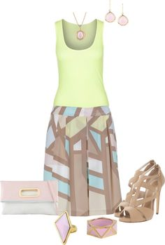 """""""Pastel Pretty Chic"""" by strawberrybrownie on Polyvore"""