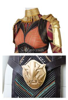 Black Panther nakia Collier /& Boucles d/'oreilles Wakandan Women Handmade Movie Cosplay